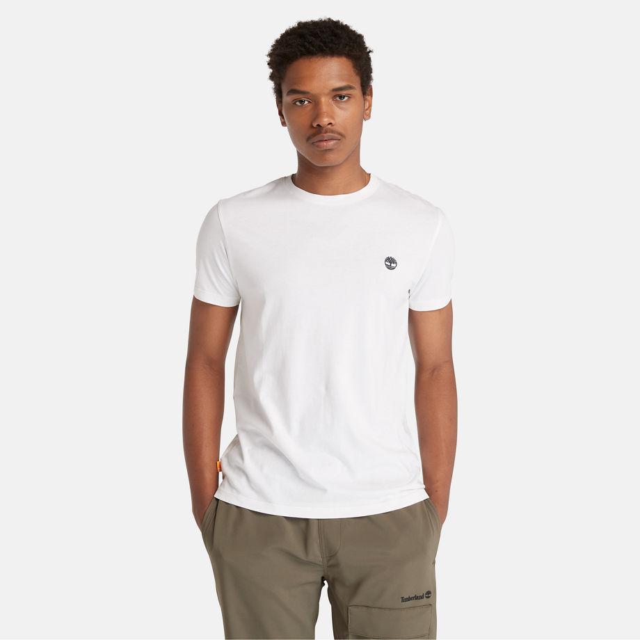 T-shirt À Col Rond Dunstan River En , Taille 3XL - Timberland - Modalova