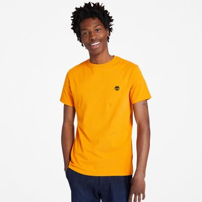 Dunstan+River+Crew+Tee+for+Men+in+Orange