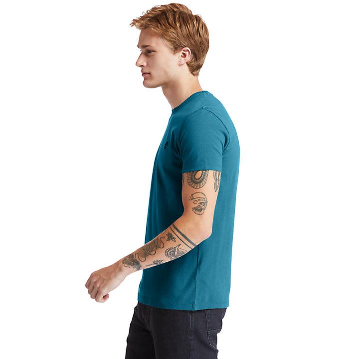 Dunstan River Rundhals-T-Shirt für Herren in Grün-