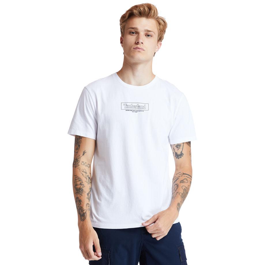 T-shirt En Coton Biologique À Col Rond Kennebec River En , Taille M - Timberland - Modalova