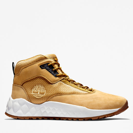 Scarpa da Hiking da Uomo Solar Wave Mid in giallo | Timberland