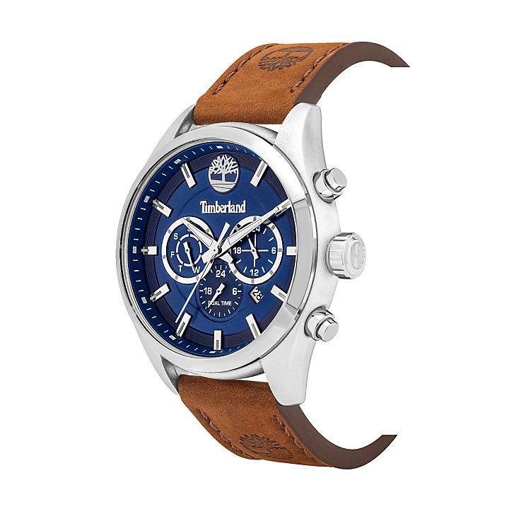 Ashmont Armbanduhr für Herren in Blau/Braun-