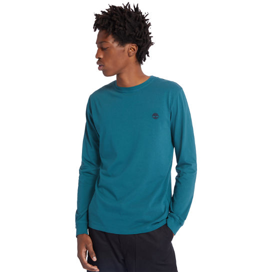 Dunstan River LS T-Shirt for Men in Blue | Timberland