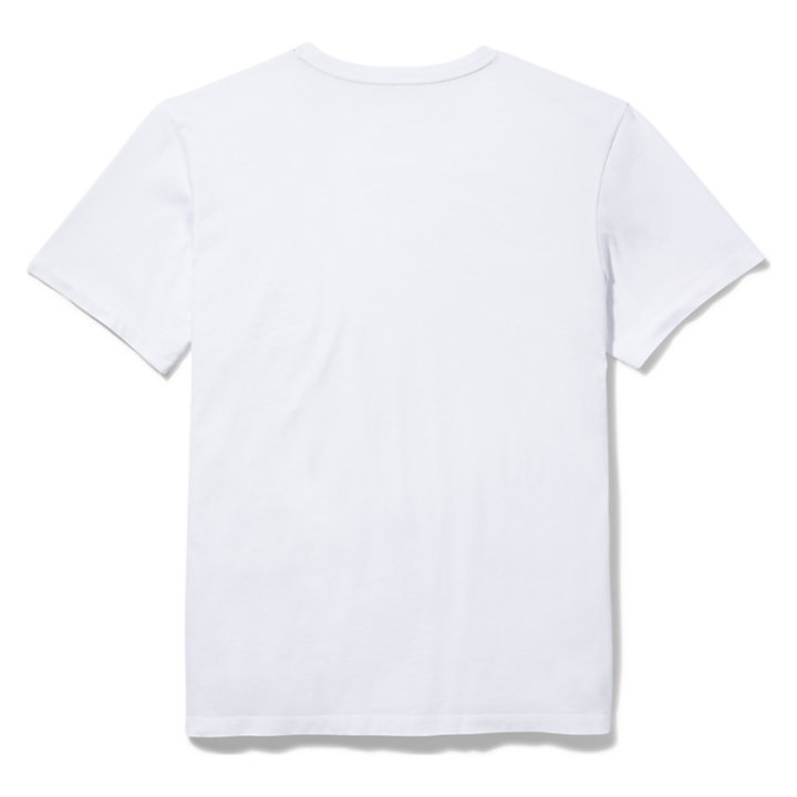 Camiseta Narrativa Kennebec River para Hombre en blanco-