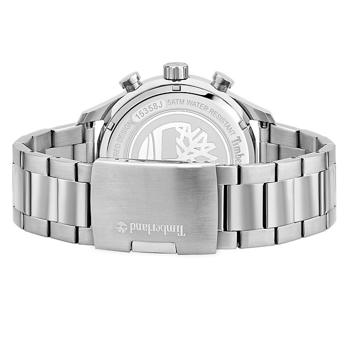 Stranton Armbanduhr für Herren in Blau/Silber-