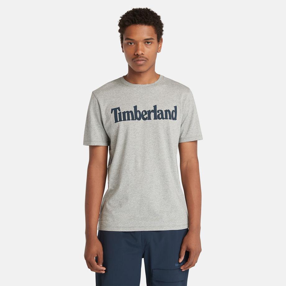 T-shirt À Logo Linéaire Pour En , Taille XL - Timberland - Modalova