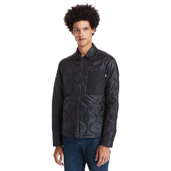 Insulated Overshirt for Men in Black | Timberland