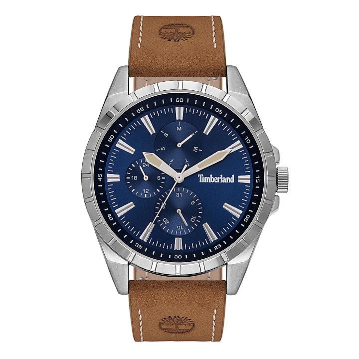 Boxborough Armbanduhr für Herren in Blau/Braun-