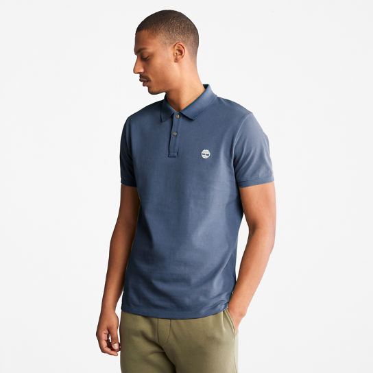 Millers River Polo Shirt for Men in Dark Blue | Timberland