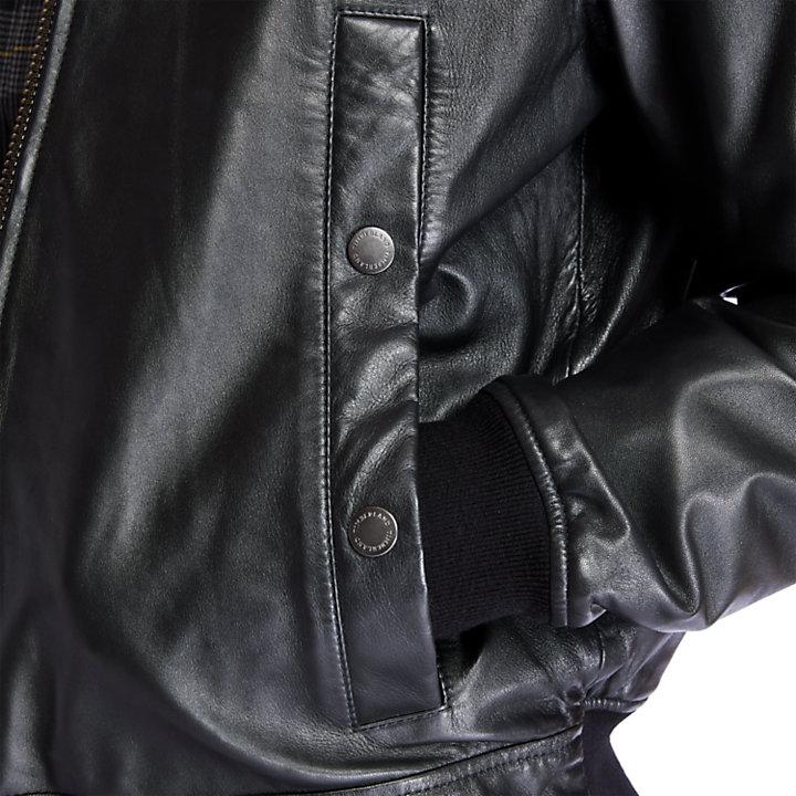 Giacca da Uomo in Morbida Pelle in colore nero-