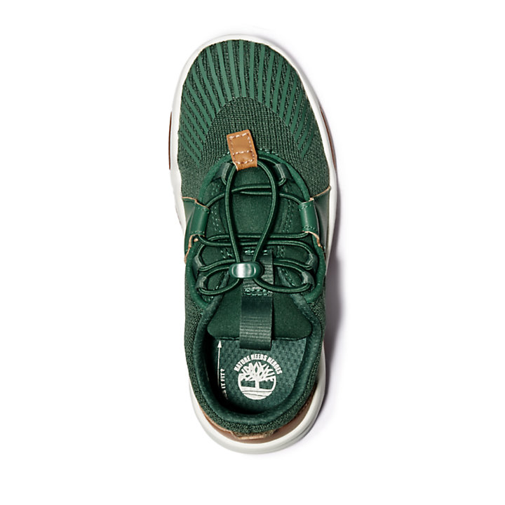 Earth Rally Sneaker for Youth in Green-