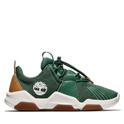 Zapatilla+Earth+Rally+para+Ni%C3%B1o+%28de+30%2C5+a+35%29+en+verde