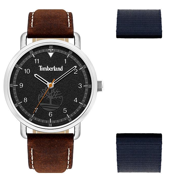 Robbinston Armbanduhr für Herren in Schwarz-