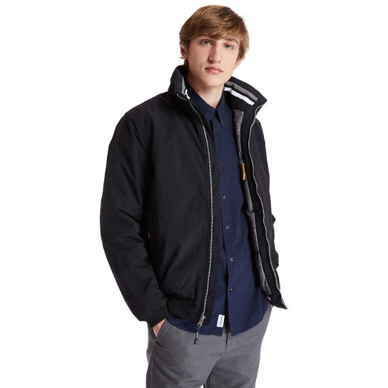 Mt Lafayette Bomber Jacket for Men in Black | Timberland