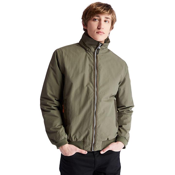Mt Lafayette Bomber Jacket for Men in Green-