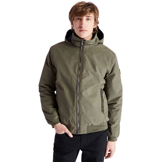 Mt Lafayette Bomber Jacket for Men in Green | Timberland