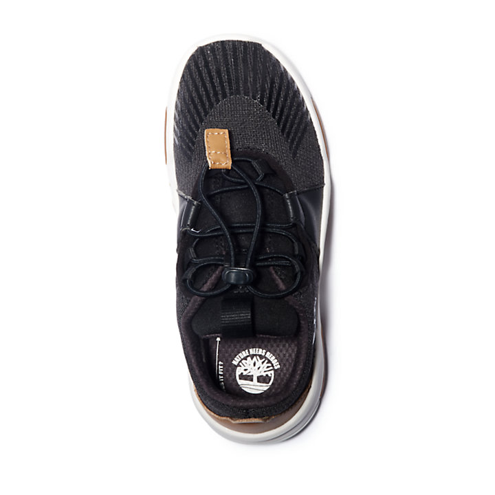 Earth Rally Sneaker for Youth in Black-
