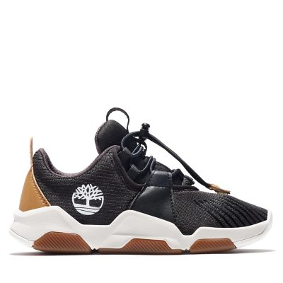 Zapatilla+Earth+Rally+para+Ni%C3%B1o+%28de+30%2C5+a+35%29+en+color+negro