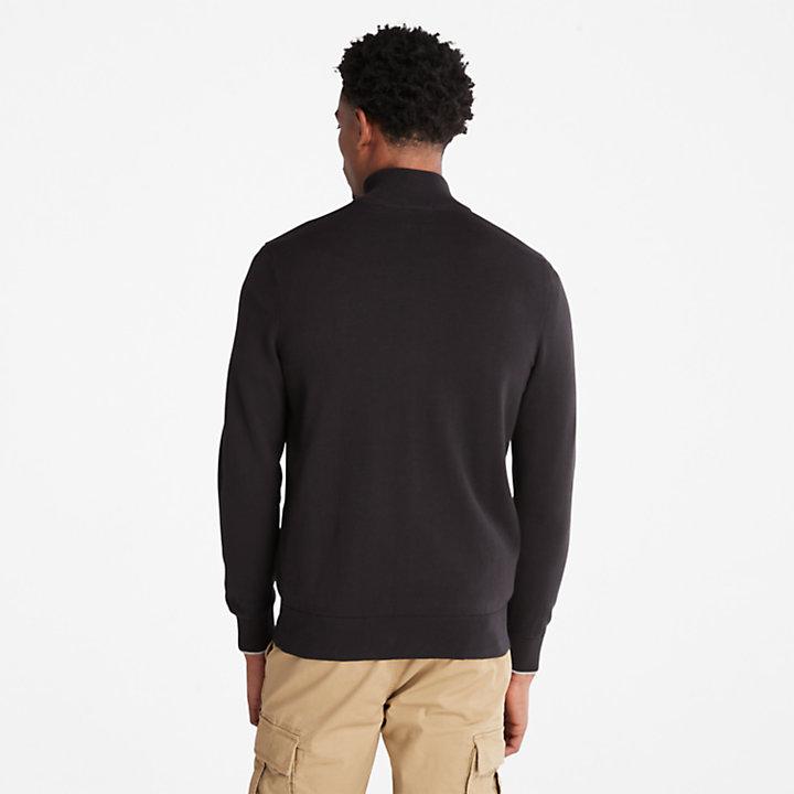 Williams River trui voor heren in zwart-