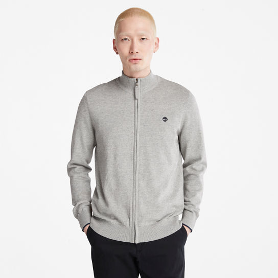 Williams River Zip Sweater for Men in Grey | Timberland