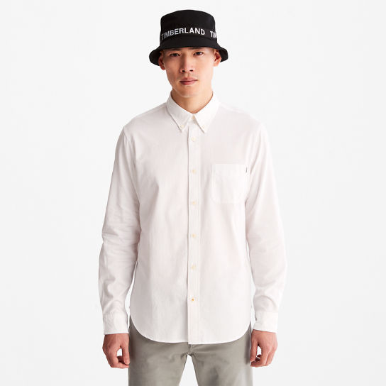 Gale River Long-sleeved Oxford Shirt for Men in White | Timberland
