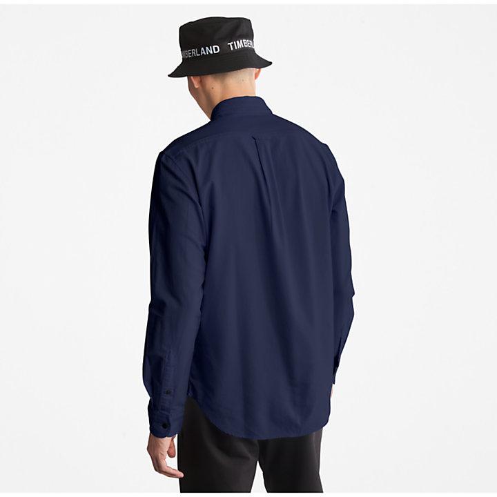 Chemise oxford Gale River pour homme en bleu marine-