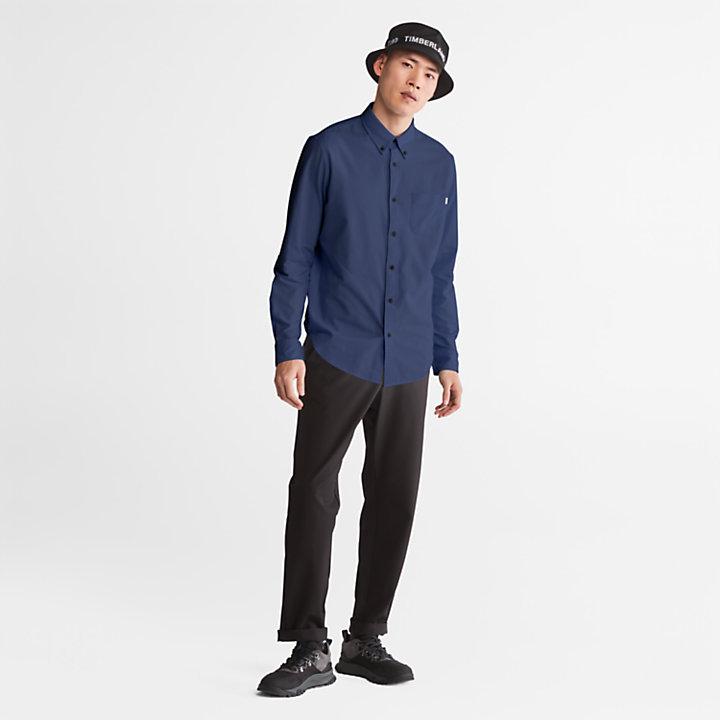Camicia Oxford da Uomo Gale River in blu scuro-