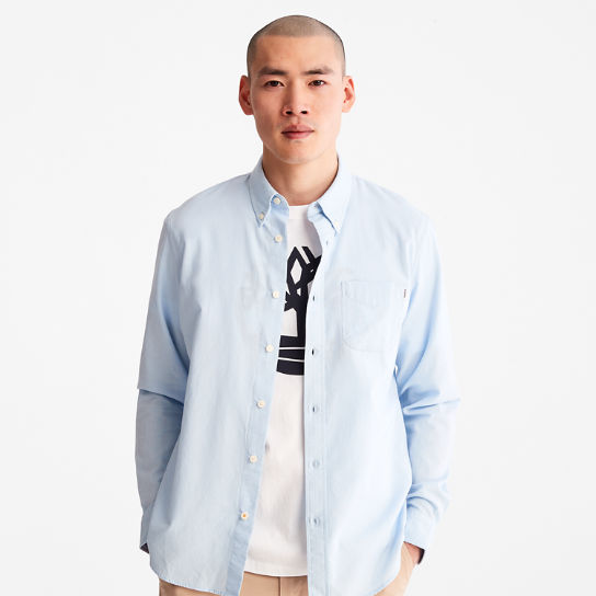 Gale River Button-Down Shirt for Men in Blue | Timberland