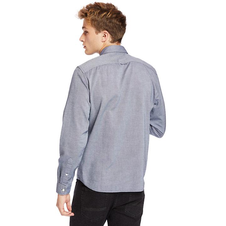 Camicia Button Down da Uomo Gale River in blu marino-