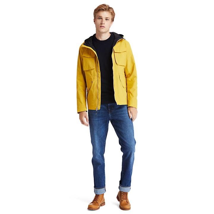 Giacca Militare da Uomo Mount Redington in giallo-