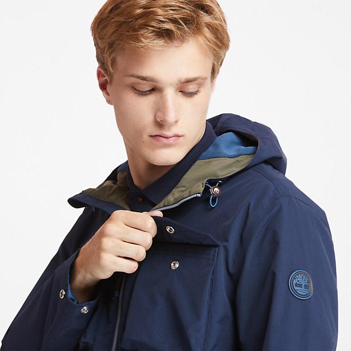Giacca Militare da Uomo Mount Redington in blu marino-