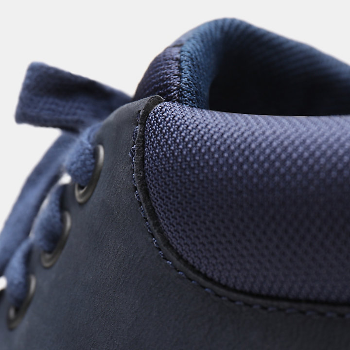 Bradstreet Leather Chukka for Men in Navy-