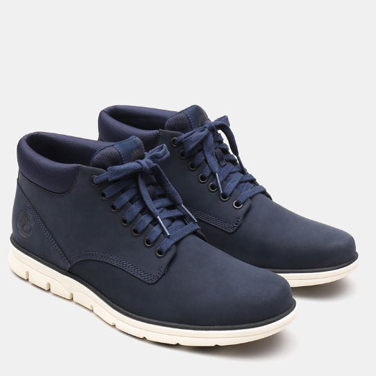 Bradstreet Leather Chukka for Men in Navy | Timberland