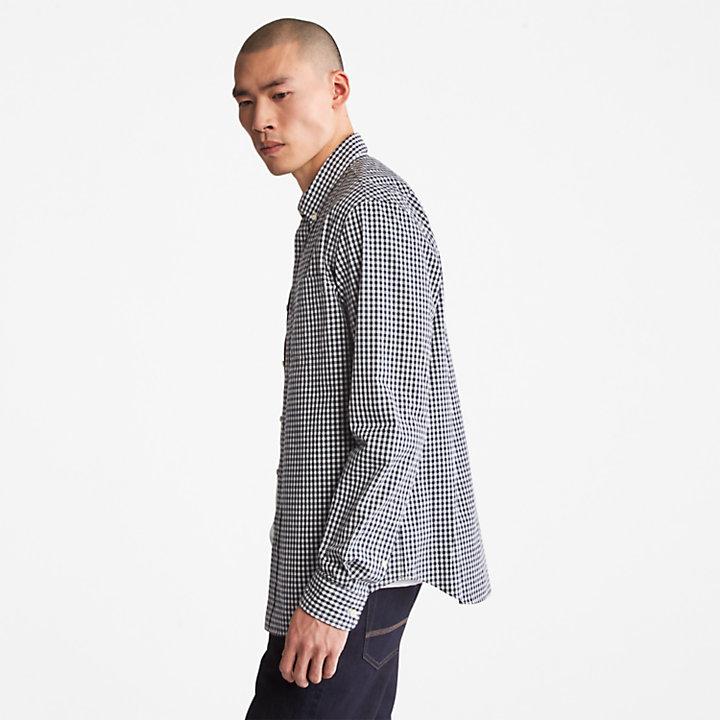 Camisa a Cuadros Indian River para Hombre en azul marino-