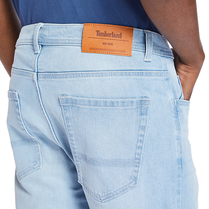 Squam Lake Stretchjeans für Herren in Hellblau-
