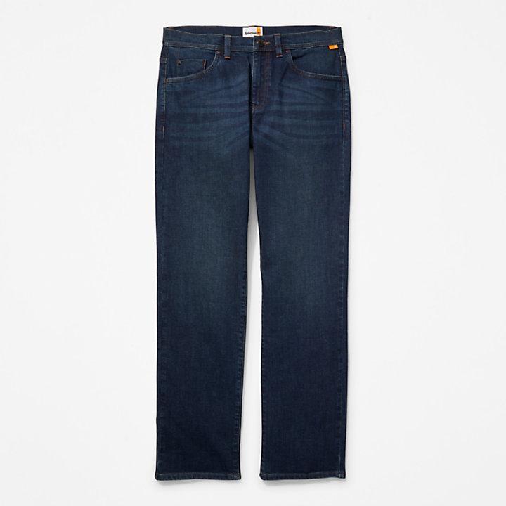 Squam Lake Stretch Denim Jeans for Men in Indigo-