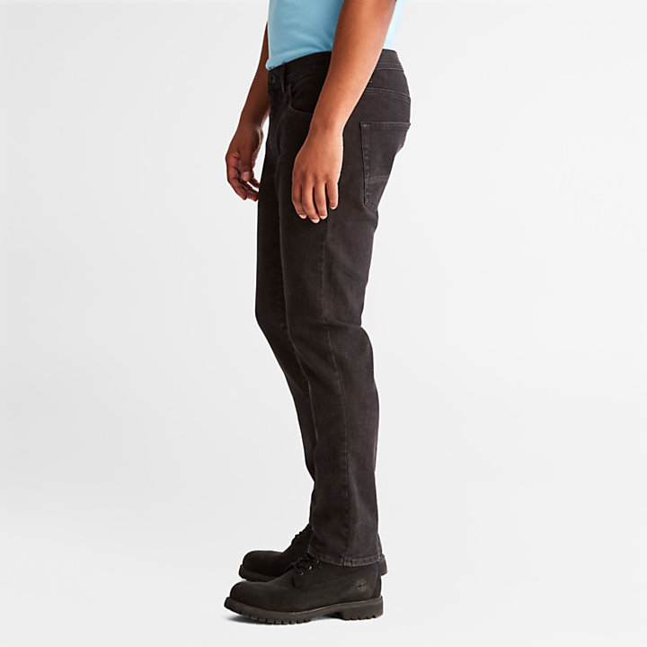 Sargent Lake Stretch Jeans for Men in Black-