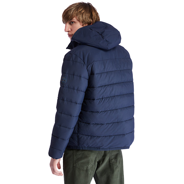 Garfield Hooded Jacket for Men in Navy-