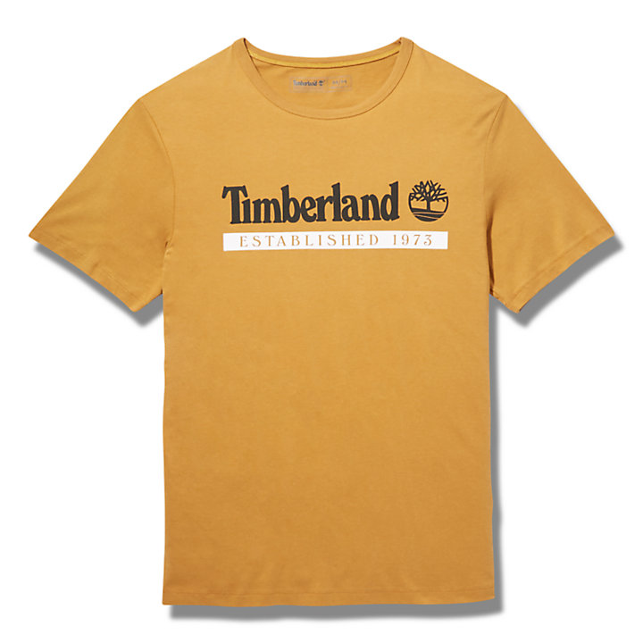 Established 1973 T-Shirt für Herren in Schwarz-