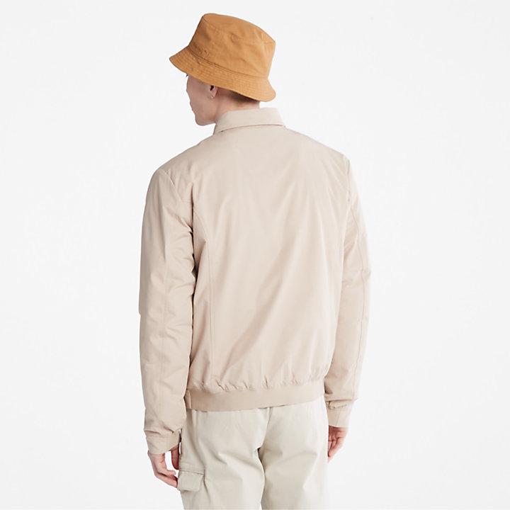 Stratham Bomber Jacket for Men in Beige-