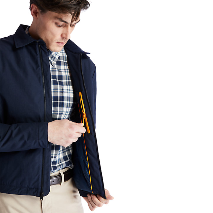 Stratham Bomber Jacket for Men in Navy-