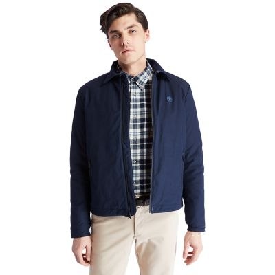 Stratham+Bomber+Jacket+for+Men+in+Navy