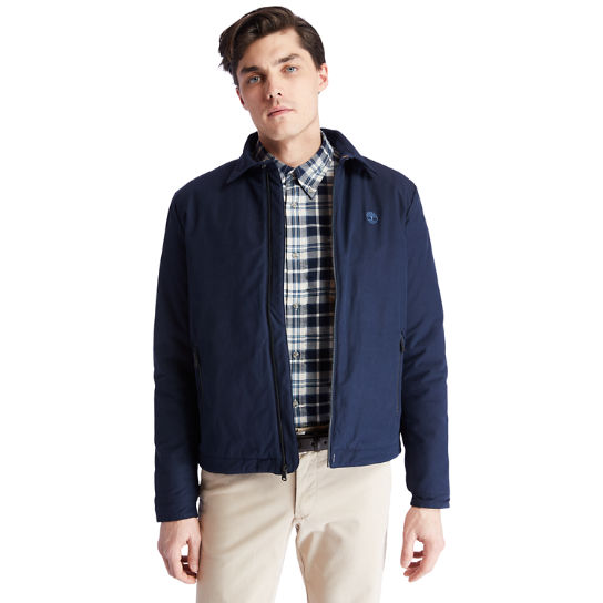 Stratham Bomber Jacket for Men in Navy | Timberland