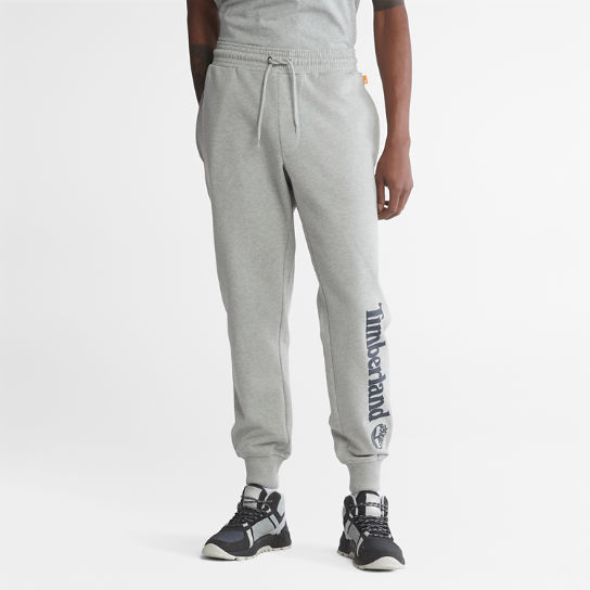 Logo Sweatpants for Men in Grey | Timberland