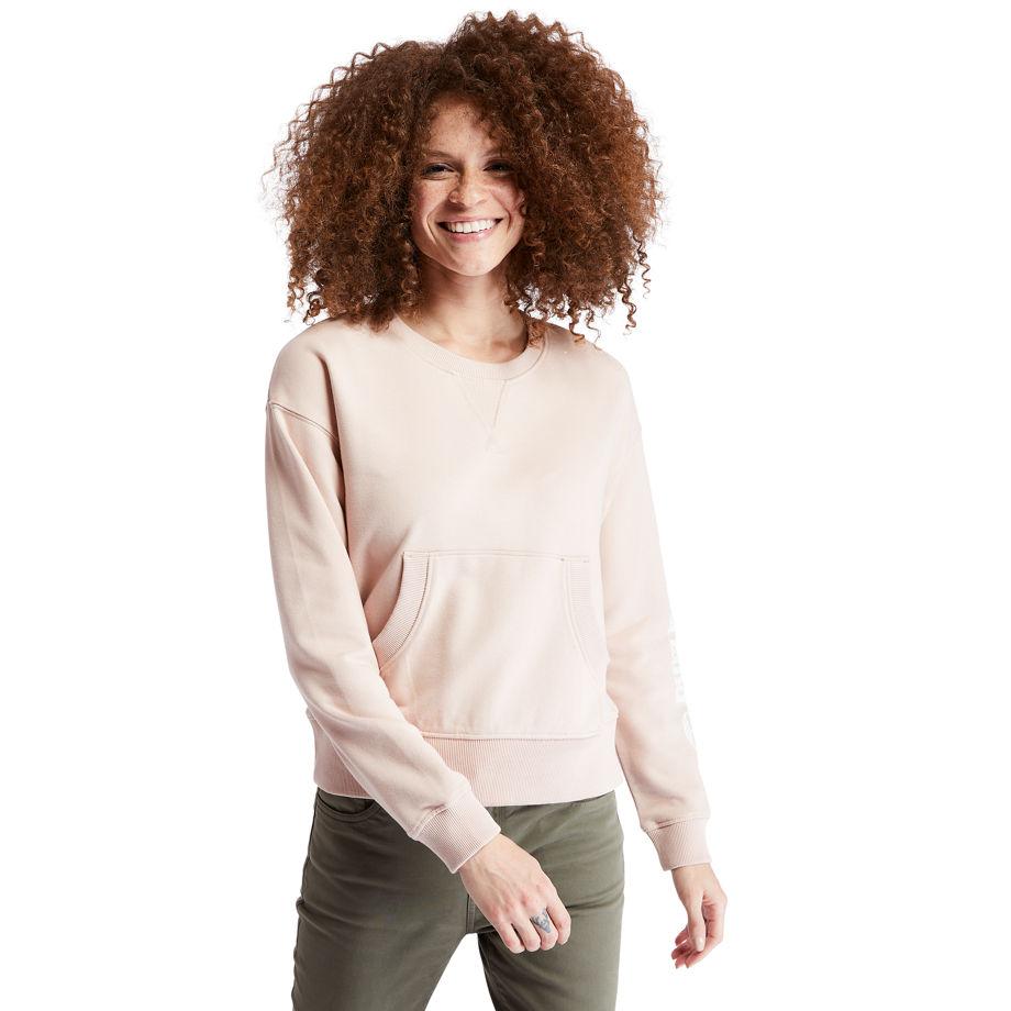 Sweat-shirt Avec Manche À Logo En , Taille L - Timberland - Modalova