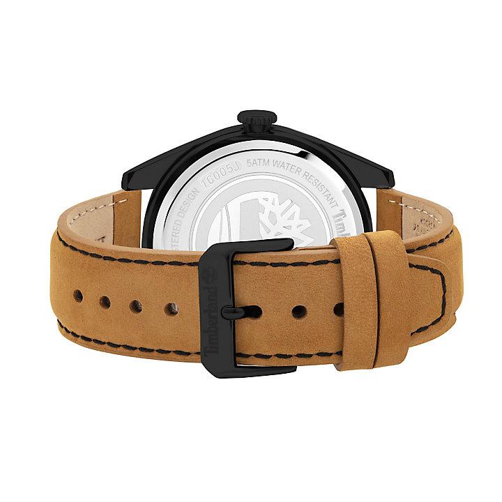 Ashfield Armbanduhr für Herren in Schwarz/Braun-