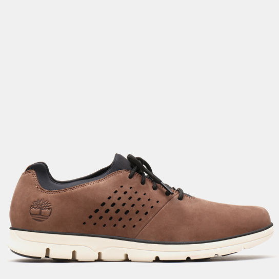 Bradstreet Perforated Oxford voor Heren in bruin | Timberland