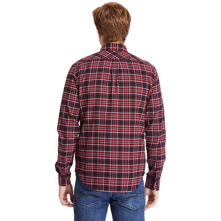 Mascoma River Tartan Overhemd voor Heren in rood-