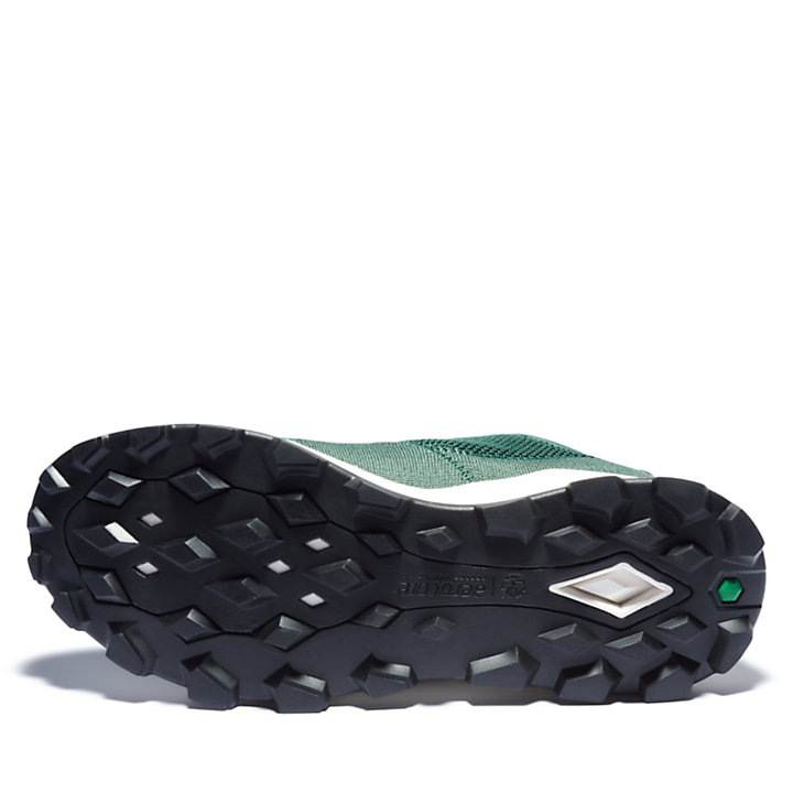 Brooklyn Flexi Knit Sneaker for Men in Green-
