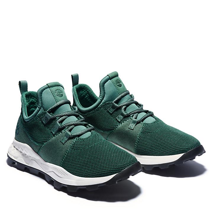 Zapatilla de Punto Flexi Brooklyn para Hombre en verde-